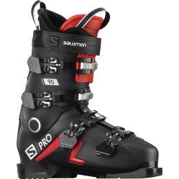 SALOMON S/PRO 90 BLACK/RED/BELLUGA 21