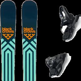BLACK CROWS ATRIS JR 21 + MARKER FREE TEN ID BLACK/ANTHRACITE (+SCREW KIT) 21