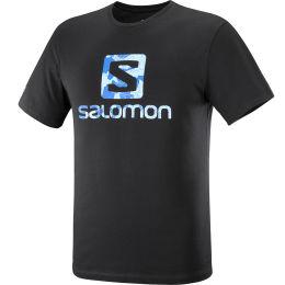 SALOMON OUTLIFE LOGO SS TEE M BK/LITTLE 21