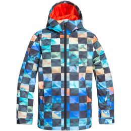 QUIKSILVER MISSION PRINTED YOUTH JK POINCIANA ONGRID 20