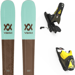 Boutique VOLKL VOLKL SECRET 102 20 + LOOK SPX 12 GW B100 KAKI/YELLOW 20 - Ekosport