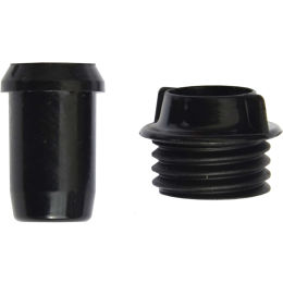 KV+ BASE INSERT AND NUT FOR SHAFTS 9,5MM 1 SET/PAIR 21