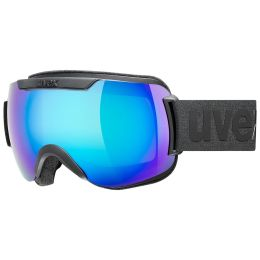 UVEX DOWNHILL 2000 CV BLACK MAT/MIR BLUE/COL GREEN 21