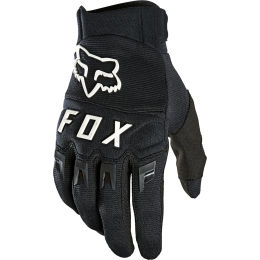FOX DIRTPAW GLOVE BLACK/WHITE 21