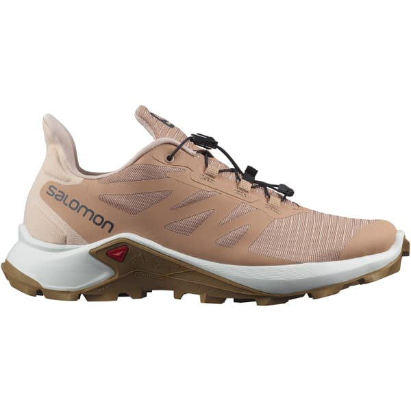 SALOMON Chaussure trail Supercross 3 W Sirocco/wht/cumin Femme Rose/Blanc/Marron taille 3.5