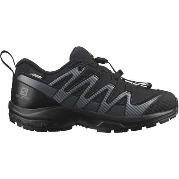 SALOMON Chaussure trail Xa Pro V8 Cwsp Jr Black/black/ebony Enfant Noir taille 33