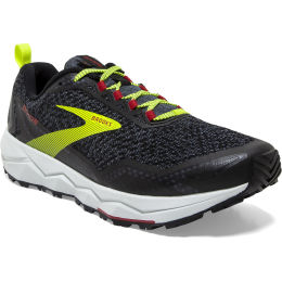 BROOKS DIVIDE BLACK/EBONY/RED 20