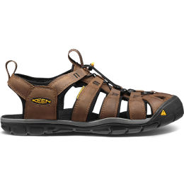 KEEN CLEARWATER CNX LEATHER DARK EARTHER BLACK 21