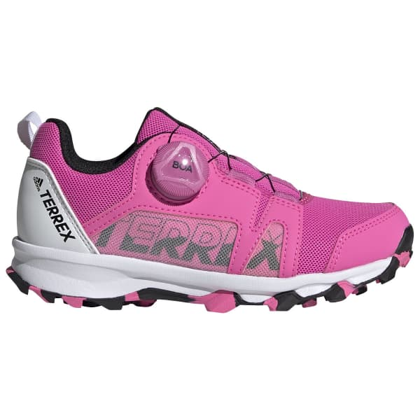 ADIDAS Chaussure trail Terrex Agravic Boa Kids Rose Criant Enfant Rose taille 33