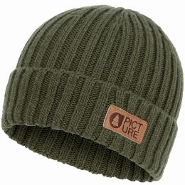 PICTURE SHIP BEANIE ARMY GREEN 21