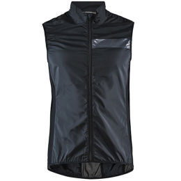 CRAFT ESSENCE LIGHT WIND VEST M BLACK 21