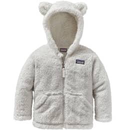 Vêtement de ski PATAGONIA PATAGONIA BABY FURRY FRIENDS HOODY BIRCH WHITE 22 - Ekosport