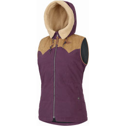 PICTURE HOLLY JKT W BURGUNDY 21
