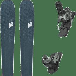 Pack ski alpin K2 K2 MINDBENDER 98 TI ALLIANCE 20 + SALOMON WARDEN MNC 13 N OIL GREEN 20 - Ekosport