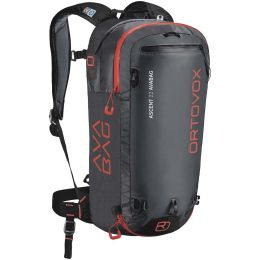 ORTOVOX ASCENT 22 AVABAG KIT REGULAR NOIR ANTHRACITE 21