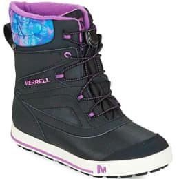 Nouveautés AH17 Footwear MERRELL MERRELL ML SNOW BANK 2.0 WTPF JR BLACK/BRY 19 - Ekosport