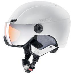 UVEX HLMT 400 VISOR STYLE WHITE MAT 21