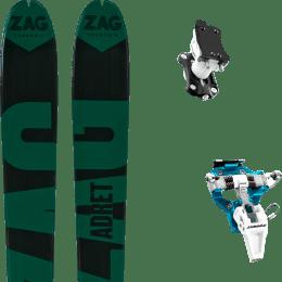 Matériel ZAG ZAG ADRET 81 20 + DYNAFIT SPEED TURN 2.0 BLUE/BLACK 21 - Ekosport