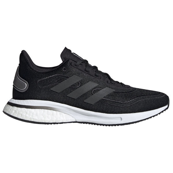 ADIDAS Chaussure running Supernova W Core Black / Grey Six / Silver Metallic Femme Noir/Blanc taille \