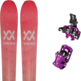 VOLKL RISE ABOVE 88 W 21 + PLUM GUIDE 7 VIOLET 20