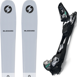 BLIZZARD ZERO G 085 GREY 22 + MARKER F10 TOUR BLACK/WHITE 21