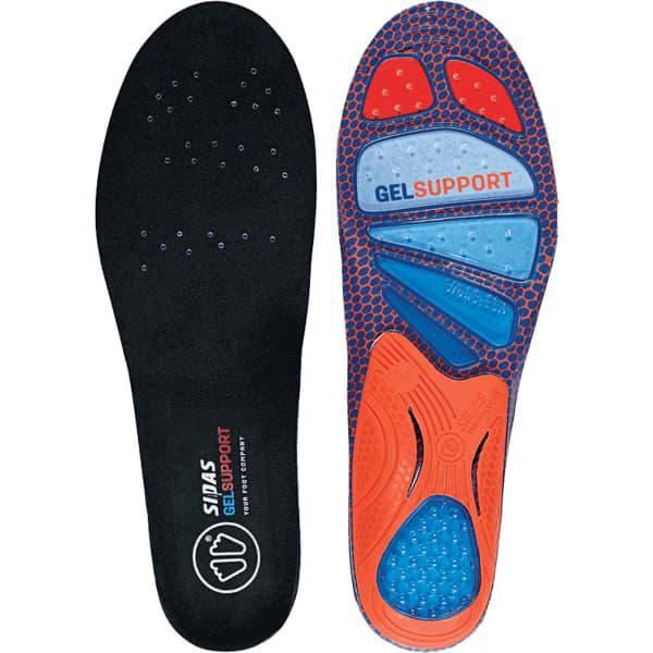 SIDAS Semelle chaussure Cush Gel Support 2.0 Homme Noir taille S