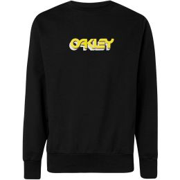 OAKLEY TRIDIMENSIONAL CREWNECK BLACKOUT 20