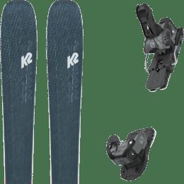 Boutique K2 K2 MINDBENDER 98 TI ALLIANCE 20 + SALOMON WARDEN MNC 13 N BLACK/GREY 20 - Ekosport