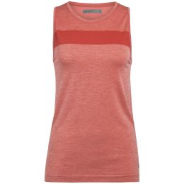 ICEBREAKER WMNS MOTION SEAMLESS TANK FIRE HEATHER 20