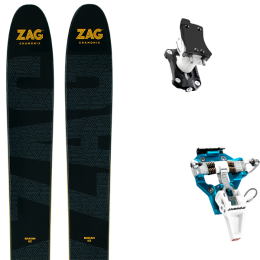 ZAG BAKAN 21 + DYNAFIT SPEED TURN 2.0 BLUE/BLACK 21