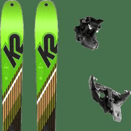 Ski randonnée K2 K2 WAYBACK 88 SMU 22 + DYNAFIT TLT SPEED 12 BLACK 21 - Ekosport