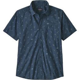 PATAGONIA M'S GO TO SHIRT COTTON BALL SURFERS:STONE BLUE 21