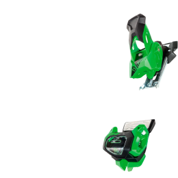 TYROLIA ATTACK² 13 GW GREEN W/O BRAKE 19 + TYROLIA POWER BRAKE² RACE PRO 110 TYPE A 19