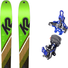 Landing housse ski offerte 2018 K2 K2 WAYBACK 88 SMU 22 + PLUM PIKA 22 - Ekosport