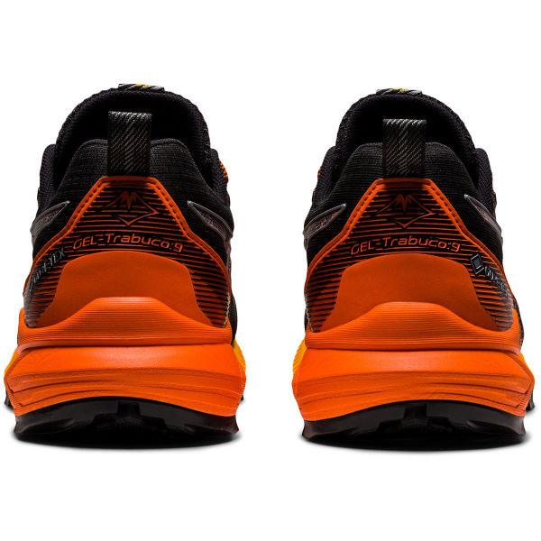 ASICS Chaussure trail Gel-trabuco 9 Gore-tex Black/sheet Rock Homme Noir/Orange taille 7