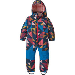 PATAGONIA BABY SNOW PILE ONE-PIECE COZY AS IT GETS CRATER BLUE 21