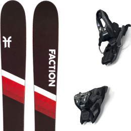 FACTION CANDIDE 2.0 YTH 21 + MARKER FREE TEN ID BLACK/ANTHRACITE (+SCREW KIT) 21