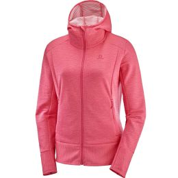 SALOMON RIGHT NICE MID HOODIE W CALYPSO CORAL 20