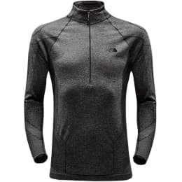 THE NORTH FACE THE NORTH FACE SMT L1 TOP BLACK HEATHER 18 - Ekosport