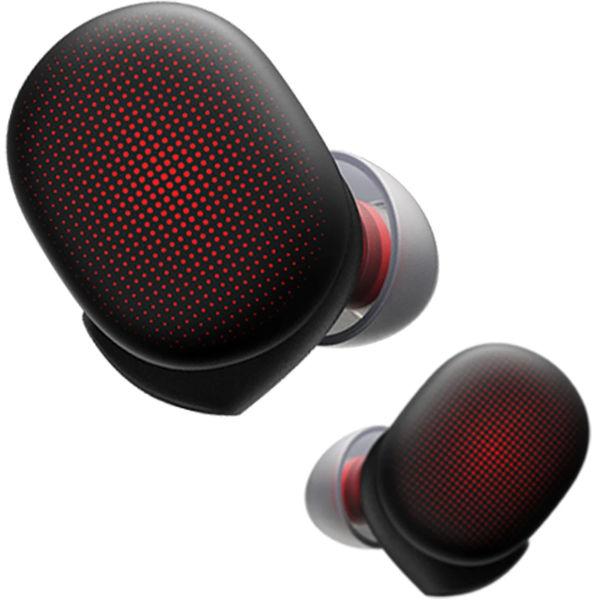 AMAZFIT Ecouteur running Powerbuds - Dynamic Black Rouge Unique