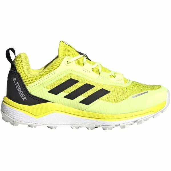 ADIDAS Chaussure trail Terrex Agravic Flow Jr Acid Yellow Enfant Jaune taille 33