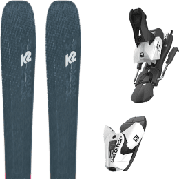 Offre spéciale K2 K2 MINDBENDER 98 TI ALLIANCE 20 + SALOMON Z12 B100 WHITE/BLACK 21 - Ekosport