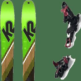 Ski randonnée K2 K2 WAYBACK 88 SMU 22 + MARKER KINGPIN 10 75-100MM BLACK/RED 22 - Ekosport