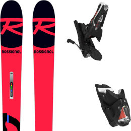 ROSSIGNOL HERO ATHLETE GS + SPX 12 ROCKERACE BLACK ICON 21