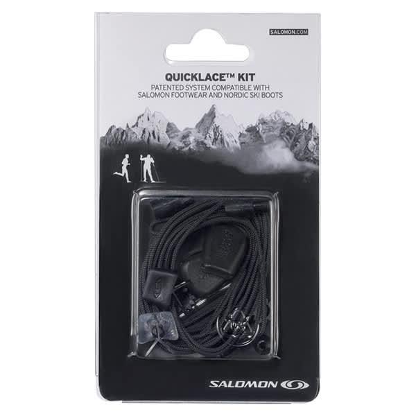 SALOMON Lacet chaussure Quicklace Kit Black Noir