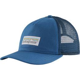 PATAGONIA W'S PASTEL P-6 LABEL LAYBACK TRUCKER HAT STELLER BLUE 21