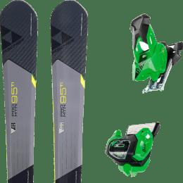 Pack ski alpin FISCHER FISCHER PRO MTN 95 TI 17 + TYROLIA ATTACK² 13 GW GREEN W/O BRAKE 19 - Ekosport