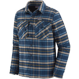 PATAGONIA M'S INSULATED FJORD FLANNEL JKT INDEPENDENCE NEW NAVY 21