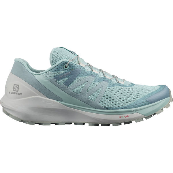 SALOMON Chaussure trail Sense Ride 4 W Pastel Turquoise/lunar Rock/slate Femme Vert taille 3.5