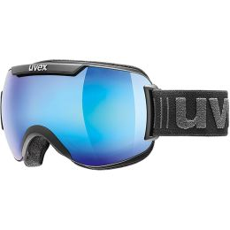 UVEX DOWNHILL 2000 FM BLACK MAT MIRROR BLUE 21